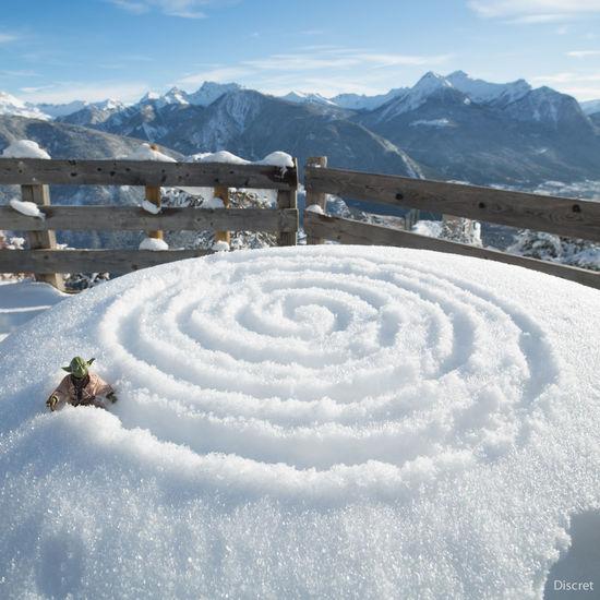 Spiral Spiral Of Love Yoda Toysphotography Montagne Chasingsnow Snow Deepfreeze