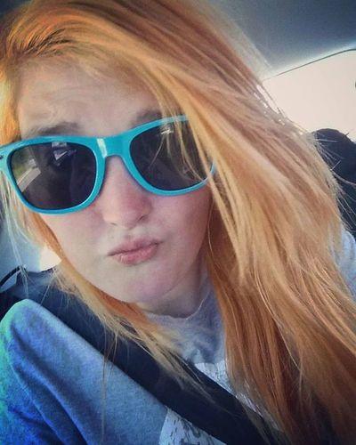 That time I bleached my hair blonde!'💇👱 Likeit Loveit Goood Blondehair Glisteningeyes Bluesunglasses Bleachedhair Converse Tee Conversetee