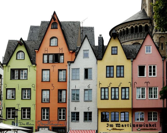 Colorful... Köln Altstadt Köln Building Exterior Architecture City Built Structure Person Men Street City Life Leisure Activity Tourist Tourism Crowd Casual Clothing Town Sky Rush Hour Busy Vacations TakeoverContrast