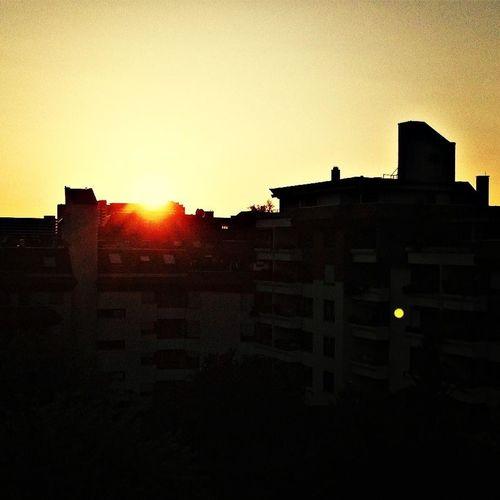 Der vorerst letzte Sonnenuntergang in der Bernsteinstrasse! *schnüff*