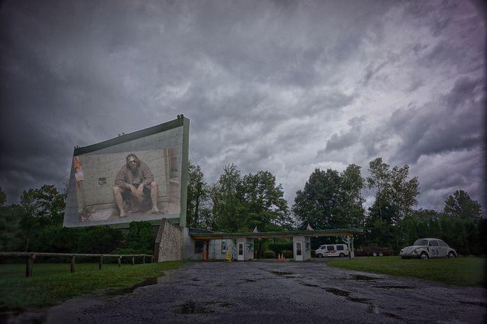 The Big Lebowski Drive In Theatre HerbieTheLoveBug