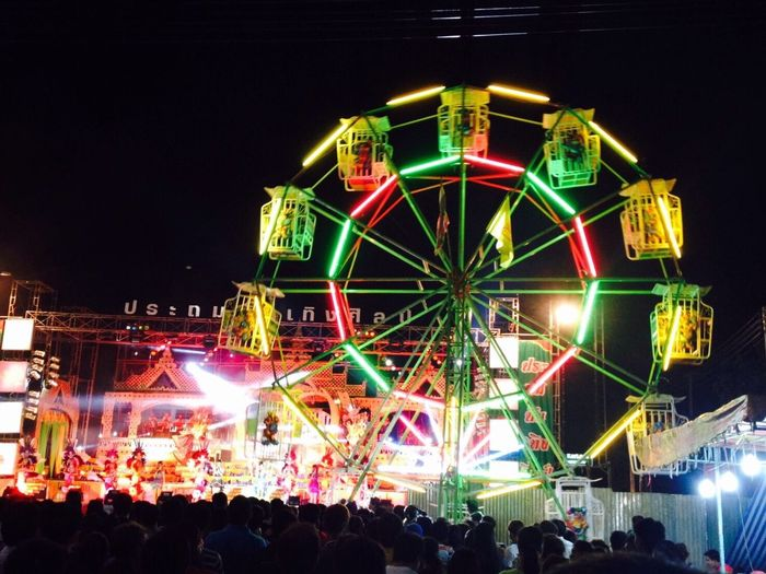 Festival Night Color Of Festivals Entertainment Nakhon Ratchasima