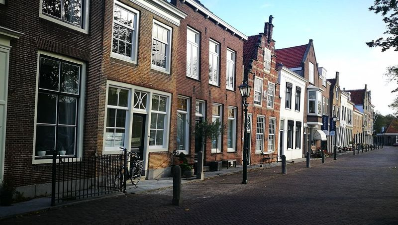 Architecture History Travel Destinations Outdoors City Brielle Brielle City Building Exterior Houses Dutch Cities Dutch House Dutch Street Dutch History