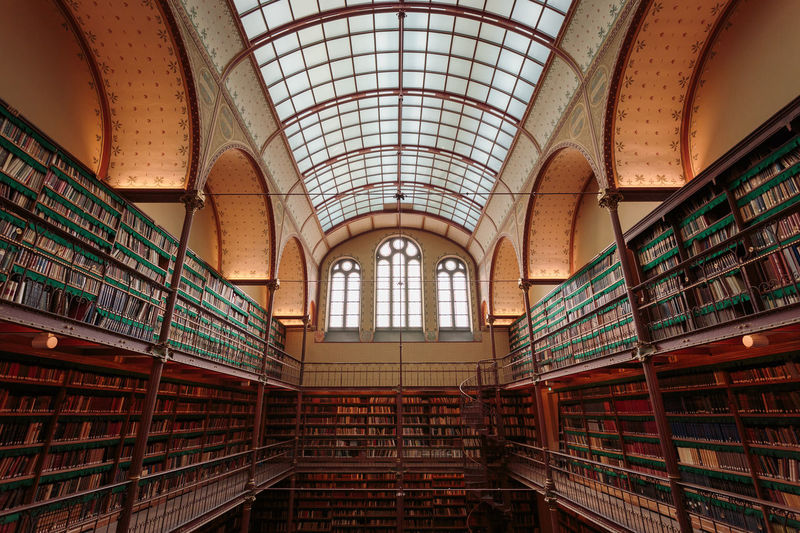 Interior of old library