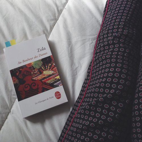 Lecture Cocooning Pyjamas Livre Emilezola Aubonheurdesdames 🍂💜