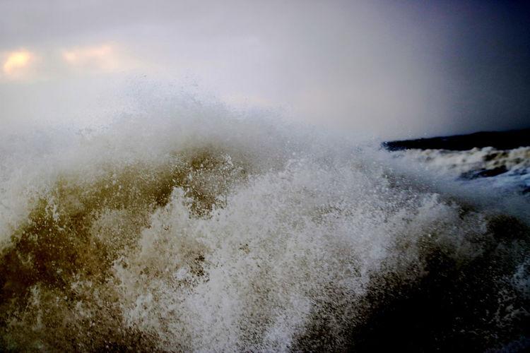 Beauty In Nature Breakwater Coast Nature North Sea Outdoors Sea Waves