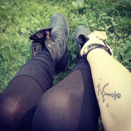 Relax and keep going ! Tattoo Irefusetosink Dontgiveup turin enjoying
