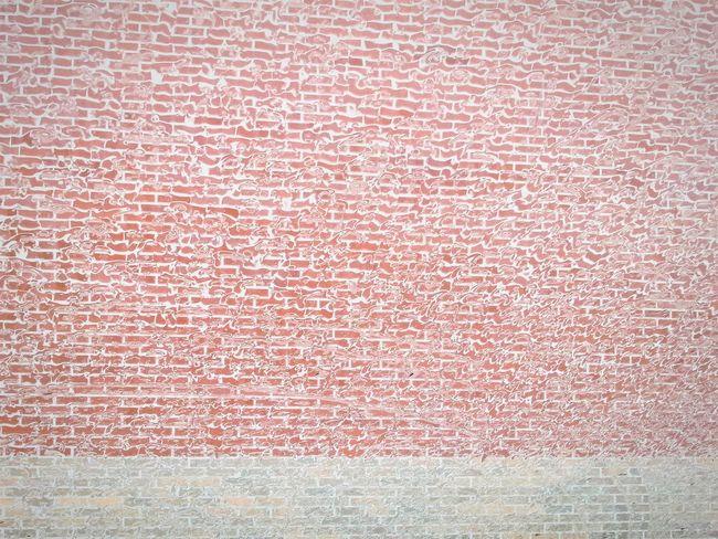Brick Wall Rain Windshield Through My Windshield
