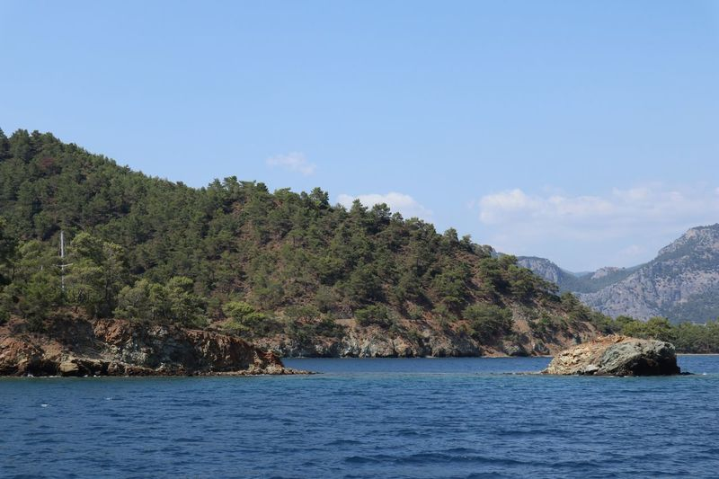 Göcek Boattrip Water Waterfront Sky Beauty In Nature Scenics - Nature Tranquility Nature Sea Idyllic Outdoors