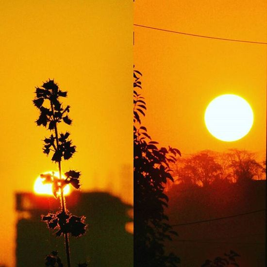 Both sunrise and sunset together.... Magnificent event....happening together right here on Instagram... Magnificent Sunsetandsunrise Simultaneously Gratitude Photographers_of_india Sunsetphotography Sunrisephotography