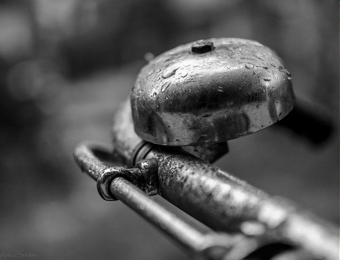 Raindrops Stuckathome Bicycle Bell Nikon D5100