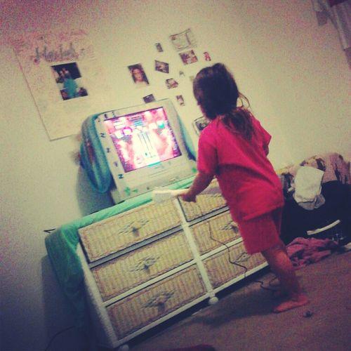 My Baby Enjoyinn One Of Her Presentss Yaya Bought Her <3