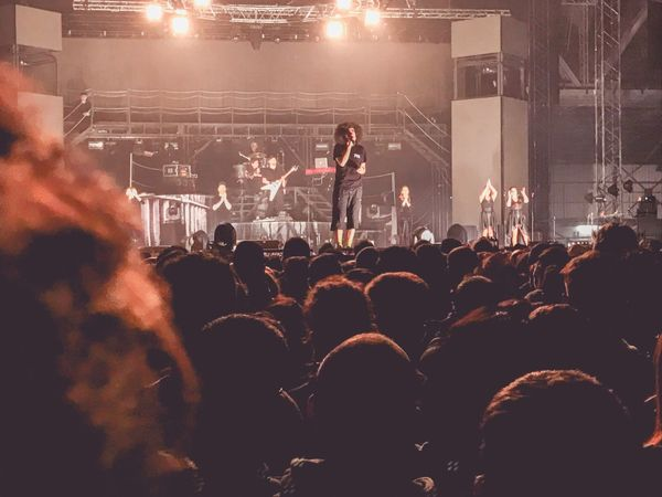 Music Arts Culture And Entertainment Event Audience Large Group Of People Crowd Performance Musician Nightlife Stage - Performance Space Youth Culture Rock Music Music Festival Modern Rock Popular Music Concert Rock Musician Stage Light Entertainment Occupation Singer  Men