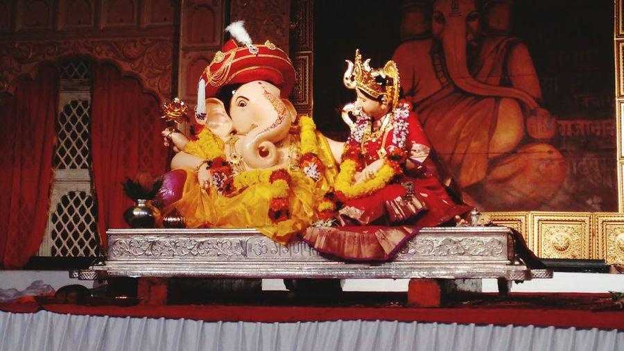 Lord ganesha-India's traditional festival First Eyeem Photo Lord Ganesha India's Festival Legend Of Ganesha