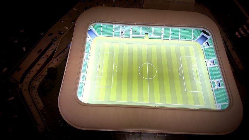 Made by Sony Xperia XZ Haladás Haladás Sport Komplexum Stadium Day Makett