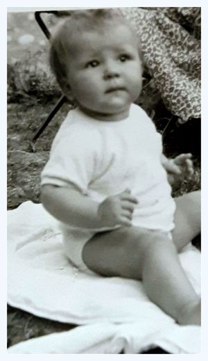 Baby Baby Of The 60s Babygirl Black And White Black And White Photography Myself Old Photography Taken By My Father