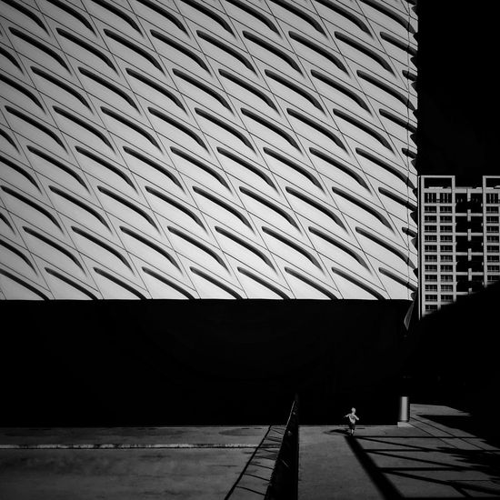 black and white friday Baby at the Broad's edge, learning to walk the line... IPhoneography Mobile Photography See The Light La California La La Land DowntownLA Los Angeles, California Architecture_collection EyeEm Ready   The Broad Museum Black And White Friday AI Now The Graphic City California Dreamin Adventures In The City
