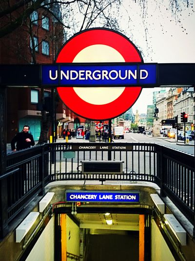 London Underground Chancerylane