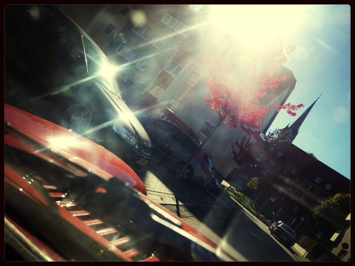 Enjoying The Sun Triumph Spitfire