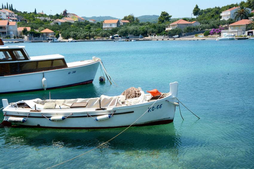 Korchula. Croacia Croacia Tourist Destination Tourist Attraction  Tree Water Nautical Vessel Sea Moored Harbor Yacht Beach Waterfront Sky Motorboat Marina