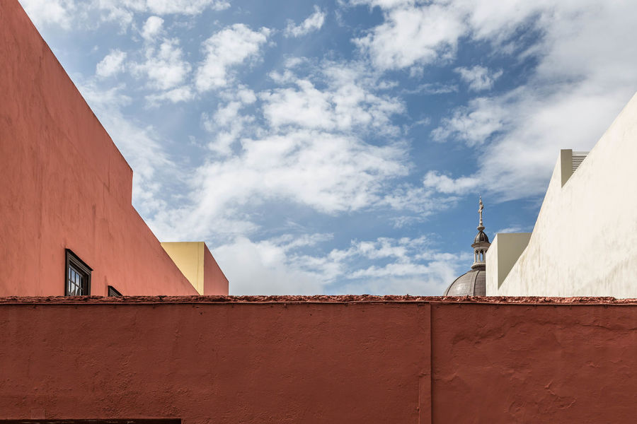 Abstract view in La Laguna, Tenerife Abstract Architecture Built Structure Geometric La Laguna No People Tenerife Walls