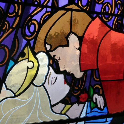 Disneyland Paris Love Princess&prince Kiss Me🙊