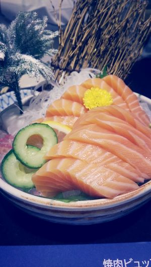 Lunch.. Sashimi  Sushi Japanese