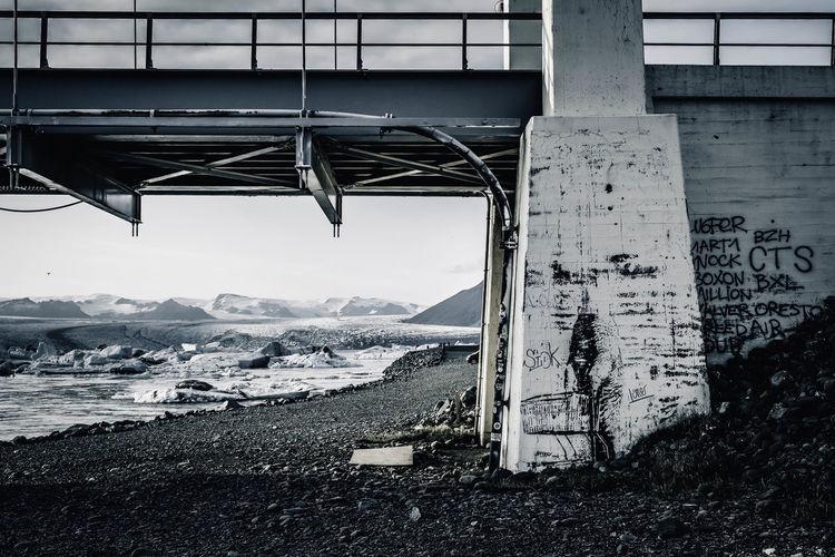 Streetart. Bridge over the Glacier Lagoon 2017 Iceland Jokulsarlon Glacier Jökulsárlón StreetArtEverywhere Architecture Diamond Beach Glacier Lagoon Jokulsarlon Lake Mountain Streetart Streetart #street #streetphotography #tagsforlikes #sprayart #urban #urbanart #urbanwalls #wall #wallporn #graffitiigers #stencilart #art #graffiti #instagraffiti #instagood #artwork #mural #graffitiporn #photooftheday #stencil #streetartistry #photograp Streetartphotography Perspectives On Nature