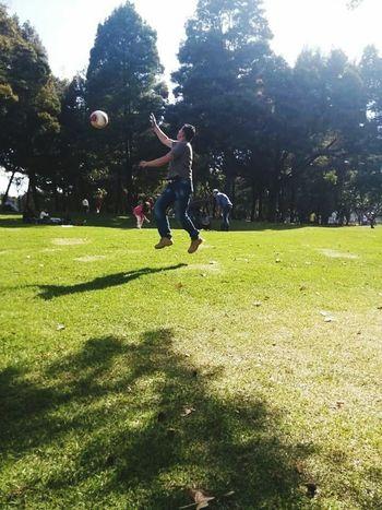 ActividadFísica Airelibre Futbol Parque  Balon