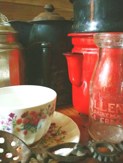 Liquid Lunch Tea Time Antique Coffee Pots Tea Cup Unusual Coffee Pots Old Cream Bottle Southern Coffee Time Mississippi Morning Brew