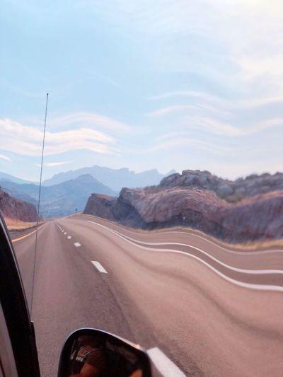 Wind Effect Utah Desert #roadtrip Sky Cloud - Sky Day Nature Mountain Scenics - Nature No People Landscape Outdoors