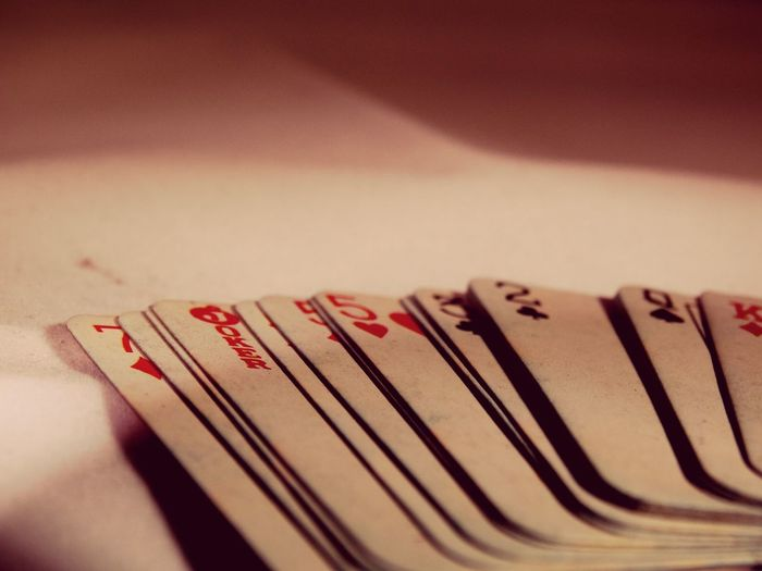 Playing cards. Playing Cards Cards Games Gambling Casino King Queen Joker Ace Spades Clubs Hearts Diamonds Bet Gamble Poker Trick  Shuffle Pasttime Hobby Hobbies This Week On Eyeem Spread Old Game