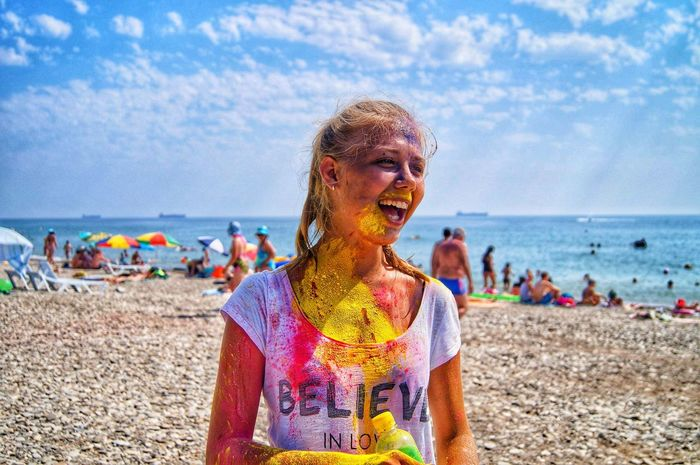 Festival Of Colors Tuapse Beautiful Sea