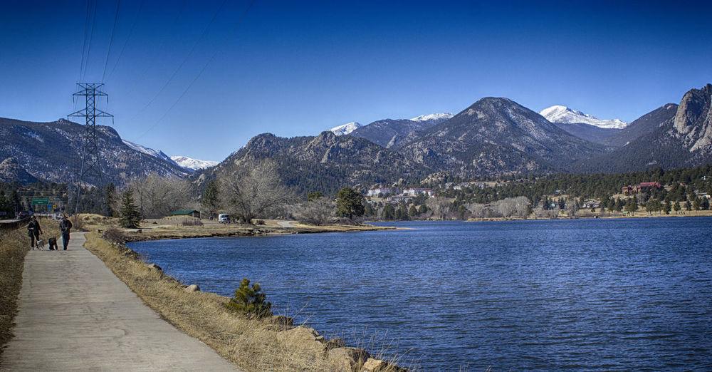 Estes Park, CO Estes Park Colorado Coloradophotographer Rocky Mountains Mountains Nature Blue Landscape