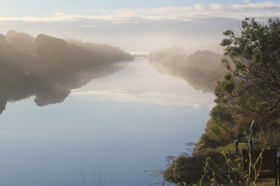 South Australia Southend Countryside Misty Morning