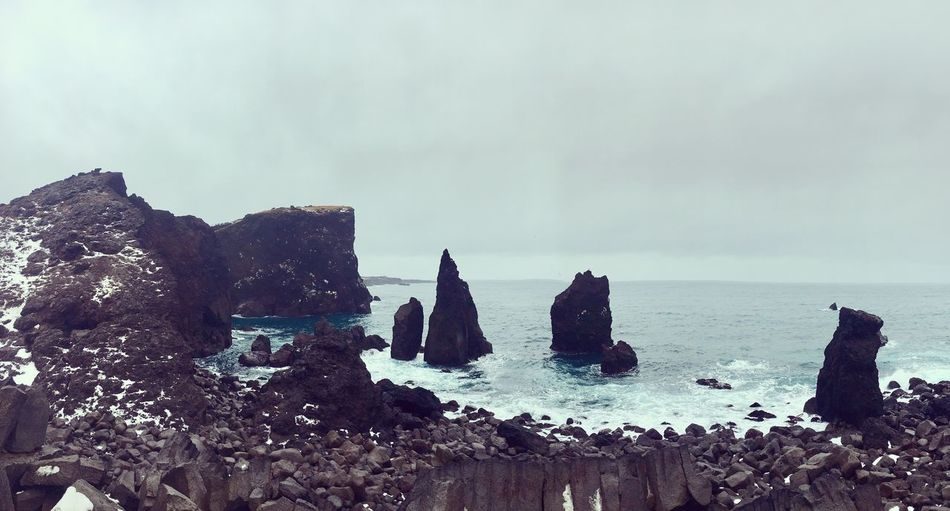Iceland Sky Sea