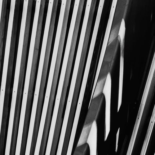 Art Is Everywhere Striped Pattern Close-up No People Wood Architecture Details Detail Architectural Detail Break The Mold Black And White Photography Blackandwhite Black & White Relaxing Photooftheday IPhoneography Instagood White Lines Artistic Different Perspective Break The Mold Abstract Abstract Photography