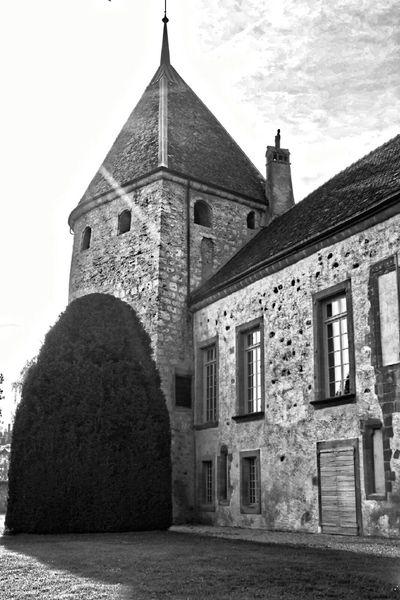 Taking Photos Castel Blackandwhite