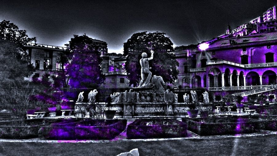 A Little Touch Of Color My Edits Sculpture Garden