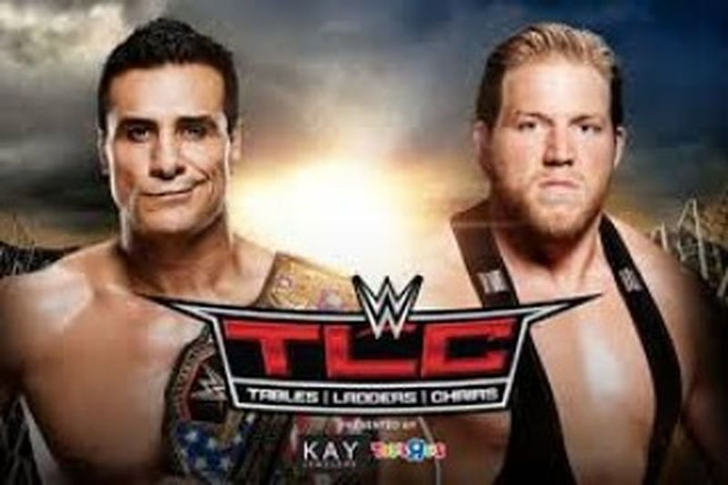 Wwe tables, ladders and chairs Alberto del Rio vs jack swagger for the wwe united States champion in a chairs match Askadr