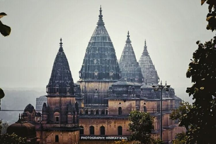 Historical Building Architecture EyeEm Best Shots - Architecture EyeEm Best Shots Incredibleindia Incredible India Orchha Hindu Temple Historical Monuments Sdavk Studios