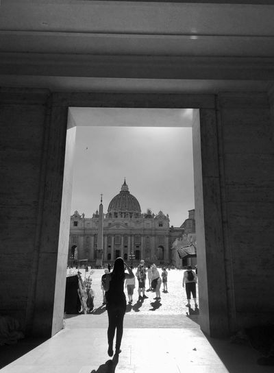 Rome Italy Italia Roma Steps Street Vatican Architecture Real People Walking Women Travel Destinations Architecture History Churches Travel