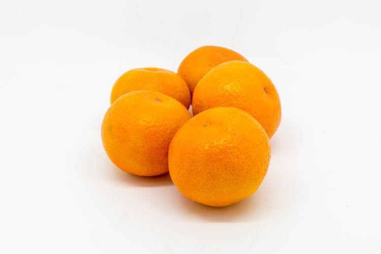 Satsumas Citrus Fruit Clementines Close-up Day Food Food And Drink Freshness Fruit Healthy Eating No People Orange - Fruit Orange Color Satsuma Studio Shot Tangerine White Background