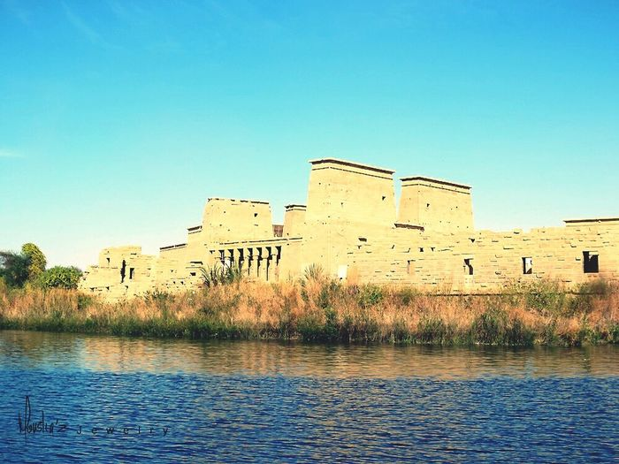 The amazing temple in the middle of the nile! Egypt Feyala Temple Pharoah Ancient Temple Ancientegypt Rivernile Aswan Upperegypt
