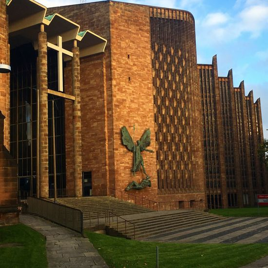 Architecture Built Structure No People Outdoors Building Exterior Day Sky City Cathedral England Coventry Coventry Cathedral - UK