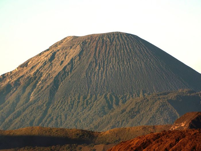 The Giant Mahameru Morning Geonusantara Geojatim Bromo INDONESIA Volcano Mountain Tranquil Scene Scenics Geology Tranquility EyeEmNewHere Nature Active Volcano Physical Geography Volcanic Crater Volcanic Landscape Clear Sky Landscape Outdoors Day Beauty In Nature No People Sky