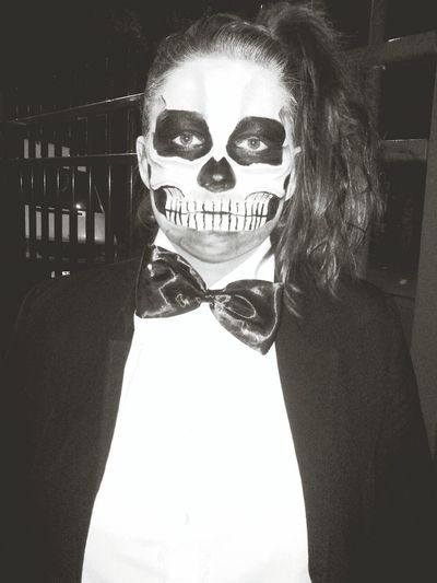 Halloween Party Black & White
