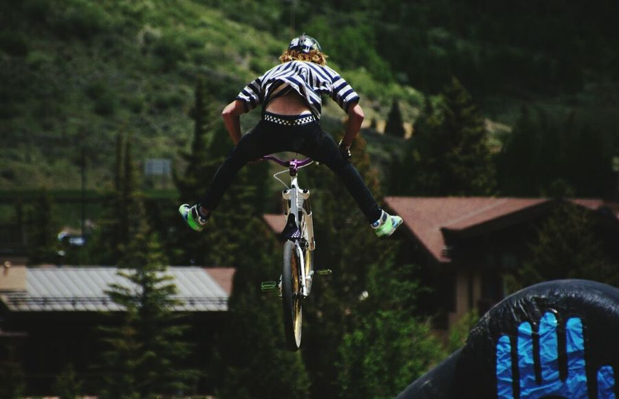 Trail Bikes Dirtbike Fly Away Flying High Bike Jump Trail Ride Bmx  Trail Rides Trailride