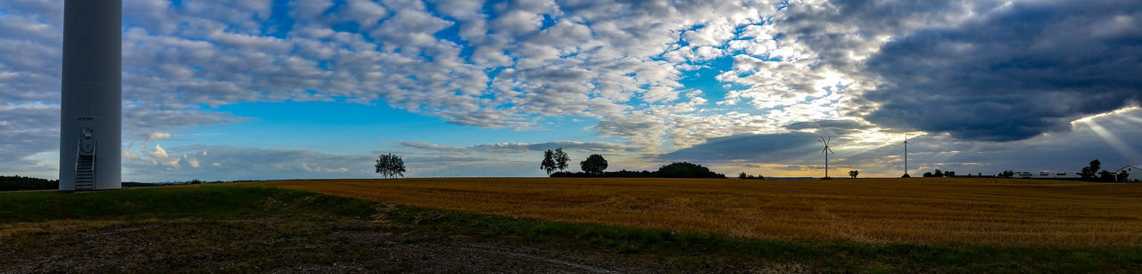 Cloud - Sky Sky Outdoors Nature No People Day Beauty In Nature Agriculture Rural Scene Freshness Pixelated
