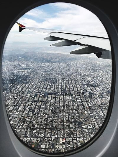 Traveling Los Angeles, California Air View View From Above From My Point Of View IPhone 7 Photography 漂亮 景色 旅游 洛杉矶 美国城市 Eyemphotography Eyem Gallery Eyem Travelers Eyem City Shots